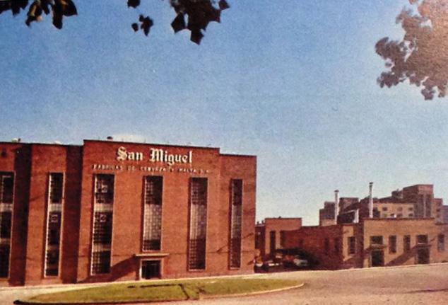 San Miguel Spain's brewery in Lerida in 1970